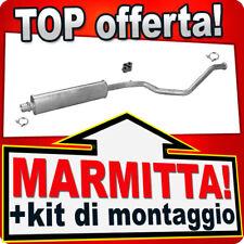 Centrale di Scarico PEUGEOT 307 2.0 16V Familiare 2002-2005 Marmitta KLT