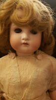 Antique German Cuno, Otto & Dressel Bisque COD 1912 Beautiful light color hair