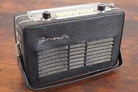 Vintage Simonetta tragbares Radio Kofferradio Transistorradio Oldtimer 50er