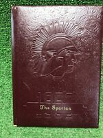 Vintage 1952 University Of Dubuque Iowa Spartans Class College Year Book