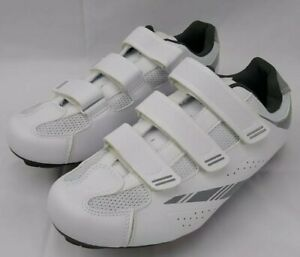 Tommaso Pista 100 Women's White Silver Cycling Shoes 10.5 US 42 EU