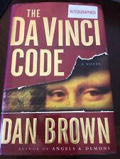 Dan Brown, Da Vinci Code - Autographed Copy