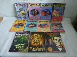 Goosebumps Novels x11 - Movie, Halloween, Monster, Beast, Dead, Legend, Lanterns