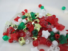 Kid's Christmas #2 Pony Bead Pack with Jelly cord & Bracelet Instructions