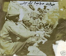 Ottoman Turkish Army Troops Trench World War 1, 5x4 Inch Reprint Photo 1