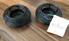 Set of 2 New POTTERY BARN Trellis Collection Tealight Wire Votive Candle Holders
