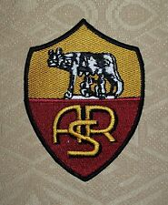 ASR AS Roma Football Soccer Iron-on/ Sew-on Embroidered Patch / Badge / Logo