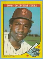 Tony Gwynn 1986 Topps Woolworth's Collectors' Series #13 Padres Combined Ship