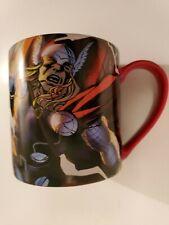 Marvel Coffee Mug Thor 16oz Red Dishwasher Safe