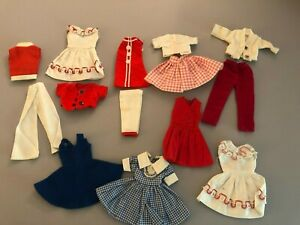 Lot of Vintage Clone dress for 9 inch doll, Fits Skipper Skooter size 60's