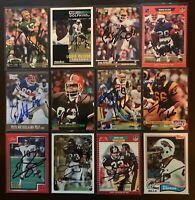 PETE METZELAARS Buffalo Bills 1991 Ultra SIGNED / AUTOGRAPH Football Card