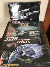 Lot Of 3 New Sealed Box Star Trek 1988 89 91 Model Kits