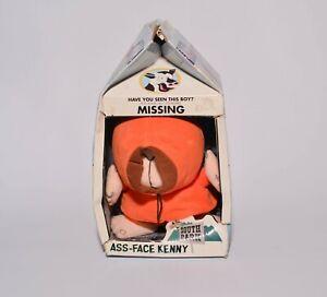 2002 South Park Ass Face Kenny Missing Milk Carton Plush Doll Figure - Bad Box