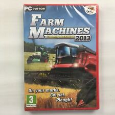 Farm Machines Championships 2013 Game for Windows PC, Brand New, Sealed, Farming