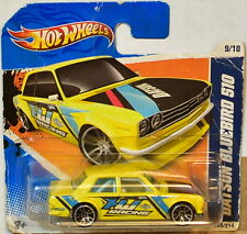 HOT WHEELS 2011 NIGHTBURNERZ DATSUN BLUEBIRD 510 SHORT CARD