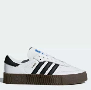Adidas Sambarose W Platform Sneakers White/black 10
