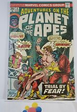 Adventures On The Planet of the Apes Comic Book #4 Marvel Comics 1976 Fn/Vf