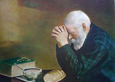 Eric Enstrom - Grace - Praying Hands - Christian - Fine Art Canvas Print