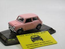 "Pilen 319 Rover Mini Cooper Limited Edition Treavalon ""THE BASIC PINK MINI"" 1/43"