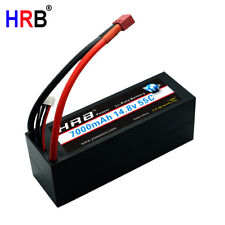 HRB 14.8V 4S2P 7000mAh LiPo Battery 55C 110C For 1/8 Scale Buggy Truggy Car Boat