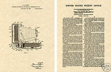 Polaroid Camera US Patent Art Print READY TO FRAME! Edwin Land Instant 35mm 1948