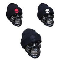 Adult Women Men Hip-Hop Rib Winter Knit Ski Beanie Skull Slouchy Cuffed Cap Hats