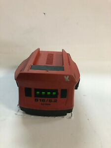 """""""two"""" HILTI 5.2 amp battery and charger"""