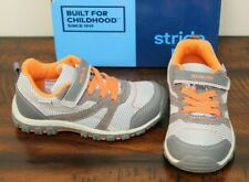 New Stride Rite Gray Collin Sneakers sz 6 Toddler Boys Shoes