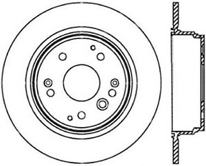 Stoptech 128.40061L ST Drilled Sport Brake Rotors