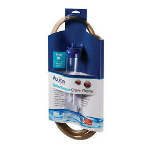 """Aqueon Siphon Vacuum Gravel Cleaner Large 10"""" Tube with 6' Hose CLOSEOUT"""