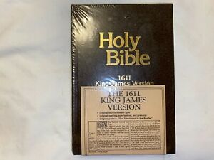 HOLY BIBLE 1611 King James Version NELSON 301 Brand New in Original Wrap