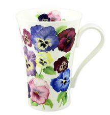 Kirkham Latte Kaffeebecher Stiefmütterchen Pansies