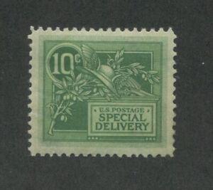 1908 United States Special Delivery Postage Stamp #E7 Mint Hinged VF OG