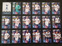 2019/20 Match Attax UEFA Soccer Cards - Tottenham Team Set Spurs Kane Son