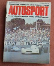 January Autosport Sports Magazines