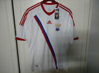 Adidas Official 2012-13 Russia Away Soccer Jersey
