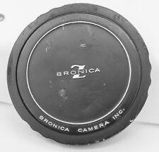 Zenza Bronica Medium Format Camera 82mm Screw In Aluminum Lens Cap