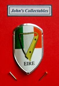 EIRE WITH HARP WALKING / HIKING STICK BADGE / MOUNT  LOT M NEW IN PACKET