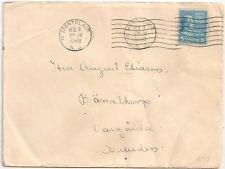 2 COVERS ETATS UNIS UNITED STATES MONTCLAIR 1948 TO SWEDEN. L638