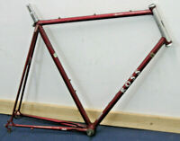 "Ross Signature Vintage Road Bike Frame XX Large 25"" Ishiwatta EX Fixie Charity!"