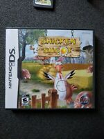 Chicken Shoot Nintendo DS 2007 (Complete, case + manual, tested, works)