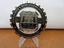 NYPD Patrolmen's Ben Assoc Challenge Coin #521C