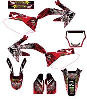 HONDA CRF 450R 2005 TO 2007 GRAPHIC KIT STICKERS DECAL CRF450R PEGATINAS MXGRAPH