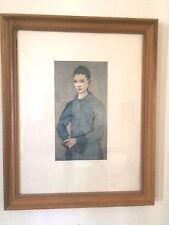 "Picasso Blue Boy Print Framed 20-1/2"" x 16-1/2"" x 1"""