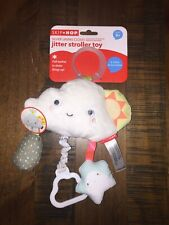 Skip Hop Silver Lining Cloud Jitter Stroller toy, 0 month+, Teether, NEW, 319