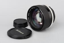 Nikon Nikkor Ai-S 85mm f/1.4 f1.4 Ais Prime Manual Focus Lens