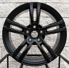 "20"" Porsche Cayenne Turbo II Style Wheels GTS Satin Black VW Touareg Audi Q7 Rim"
