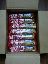 KitKat CHUNKY Beurre De Cacahuète. Boîte de 24×42g.