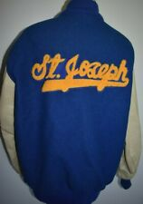 Vintage Letterman Jacket Medium ST JOSEPH High School Varsity DeLong Coat