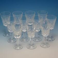 Waterford Crystal - Lismore Pattern - 12 Sherry Wine Stem Glasses - 5 1/8 inches